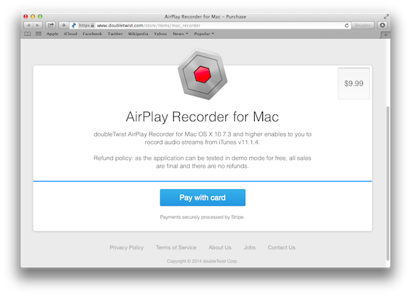 Help: Guide to AirPlay Recorder for Mac