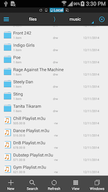 Help: How to restore missing playlists (on Android 4 4