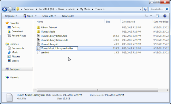 Change where imported files are stored