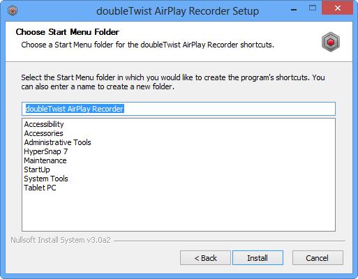 Help: Guide to AirPlay Recorder for Windows